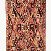 Caucasus: Carpet, C1680 Poster