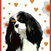 Cavalier King Charles Spaniel Poster