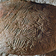 Cave Art: Incised Rock Poster