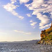 Cave Rock - Lake Tahoe Poster