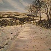 Cavehill Winter Walk Poster