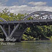 Caveman Bridge With Text Poster