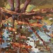 Cedar Creek Reflection Poster