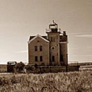 Cedar Island Lighthouse Poster