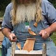 Cedar Shake Shavings Poster