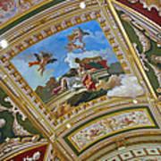 Ceiling Inside Venetian Hotel Poster