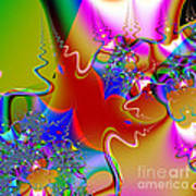 Celebration . Square . S16 Poster by Wingsdomain Art and Photography