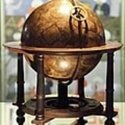 Celestial Globe, 17th Century Poster