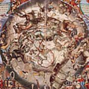 Cellariuss Constellations, 1660 Poster