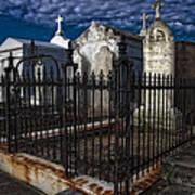 Cemetery Landscape Poster