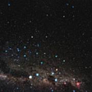 Centaurus Constellation Poster