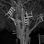 Chairy Tree Poster