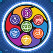 Chakra Circle Poster