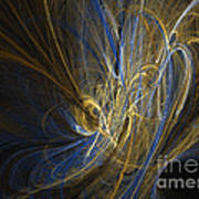 Champagne - Abstract Art Poster