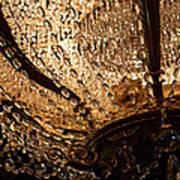 Chandelier Shimmer Poster