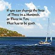 Change A Life Poster