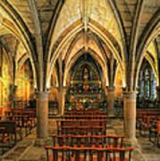 Chapel In Dordogne France Poster