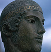 Charioteer Of Delphi Poster by Photo Researchers
