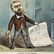 Charles Guiteau Cartoon Poster by Granger