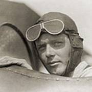 Charles Lindbergh 1902-1974 Wearing Poster by Everett