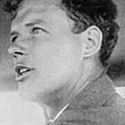 Charles Lindbergh, Us Aviation Pioneer Poster