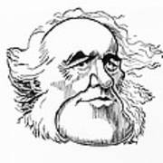 Charles Lyell, Caricature Poster by Gary Brown