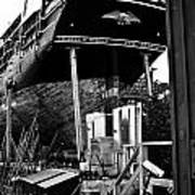 Charles W Morgan Hays  And Ros Clark Ship-lift  Poster