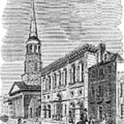 Charleston, 1857 Poster