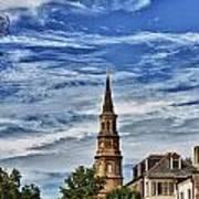 Charleston Church Steeple Poster