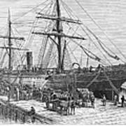 Charleston: Cotton Ship Poster