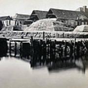 Charleston South Carolina - Vanderhorst Wharf - C 1865 Poster