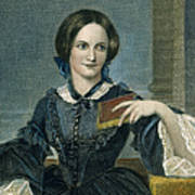 Charlotte Bronte Poster by Granger