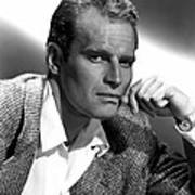 Charlton Heston, 1950s Poster