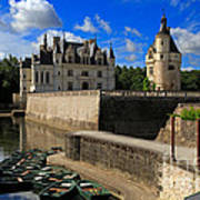 Chateau Chenonceau Loire Valley Poster