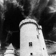 Chateau De Blandy Les Tours Poster