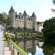 Chateau De Josselin Poster