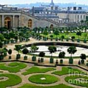 Chateau De Versailles Garden In France Poster