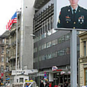 Check Point Charlie Berlin Germany Poster