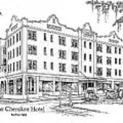 Cherokee Hotel Poster