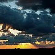 Chestnut Ridge Sunset 2642 Poster