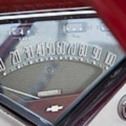 Chevrolet 3100 Truck Speedometer Poster
