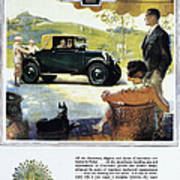 Chevrolet Ad, 1927 Poster