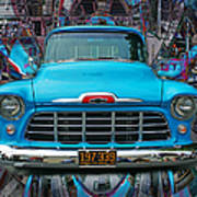 Chevrolet Pick Up Abstract Poster