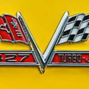 Chevy 427 Turbo-jet Poster