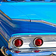 Chevy Bel Air Fin Poster