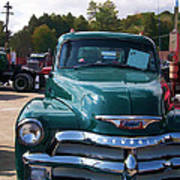 Chevy In Green Poster
