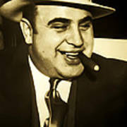Chicago Gangster Al Capone Poster