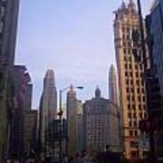 Chicago Scene Poster