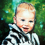 Child Portrait Poster