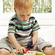 Childhood Development Poster by Ian Boddy